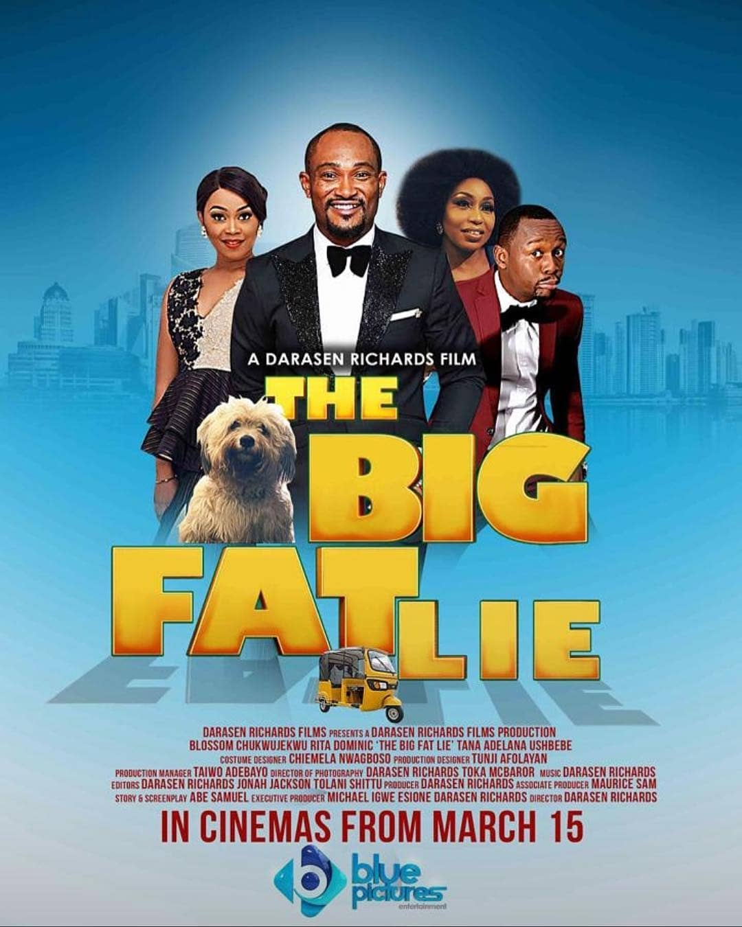 BIG FAT LIE poster